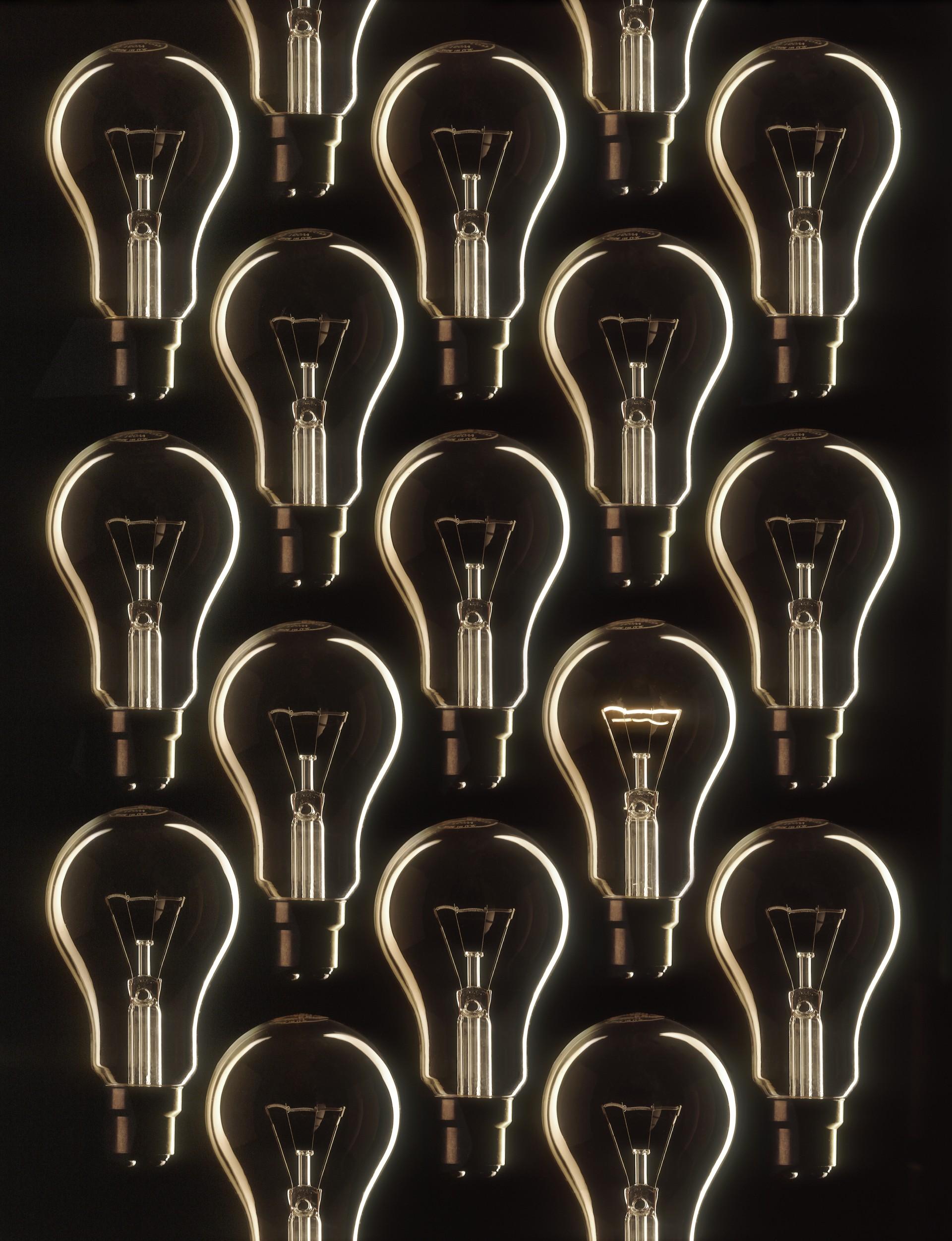 Peter Marshall Photography Lightbulbs